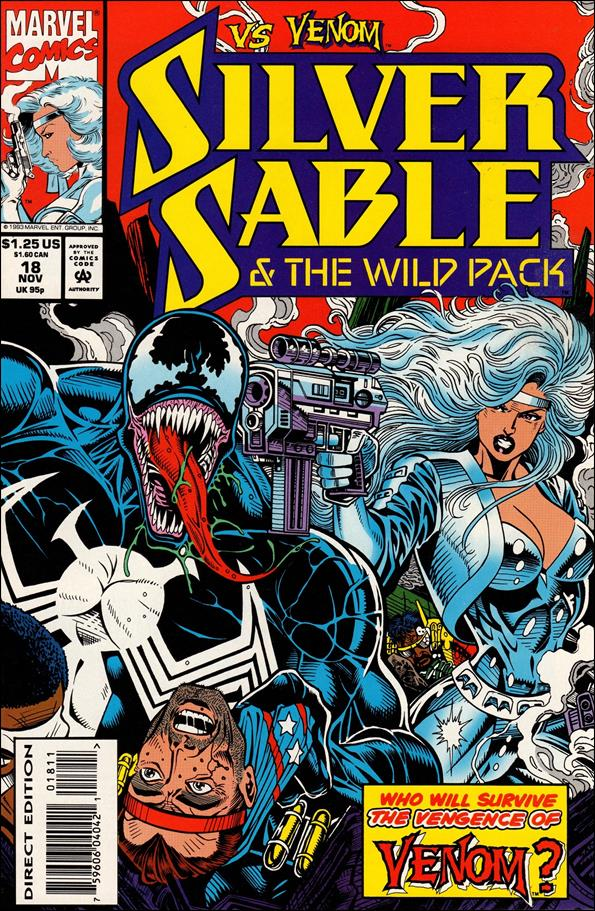 Silver Sable & The Wild Pack 18-A by Marvel