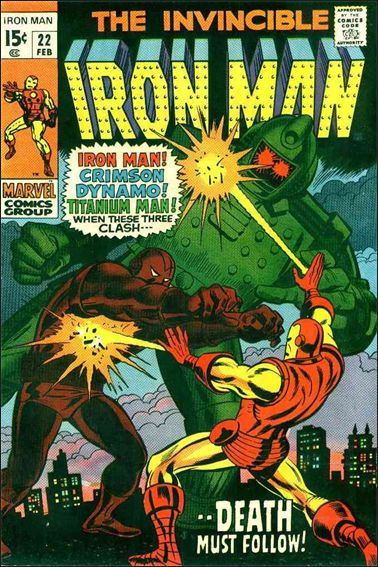 Iron Man (1968) 22-A by Marvel