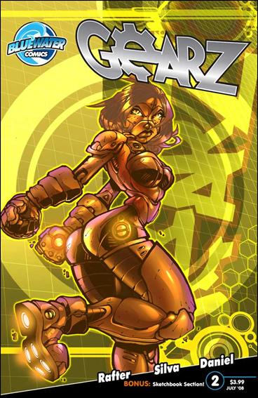 Gearz 2-B by Bluewater Comics