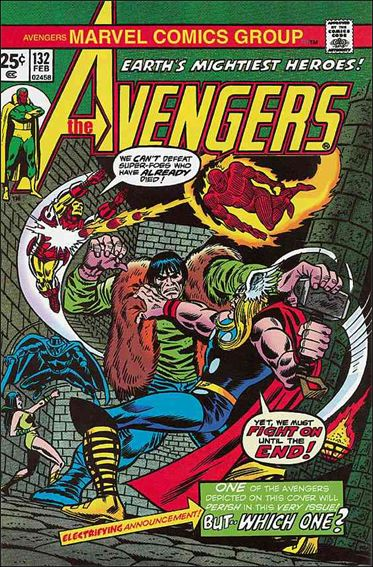 Avengers (1963) 132-A by Marvel