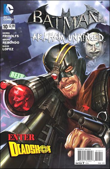 Batman: Arkham Unhinged 10-A by DC