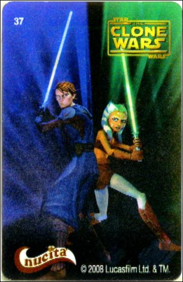 Star Wars The Clone Wars Nucita Motion Cards (Promo) 37-A by Lucasfilm Ltd.