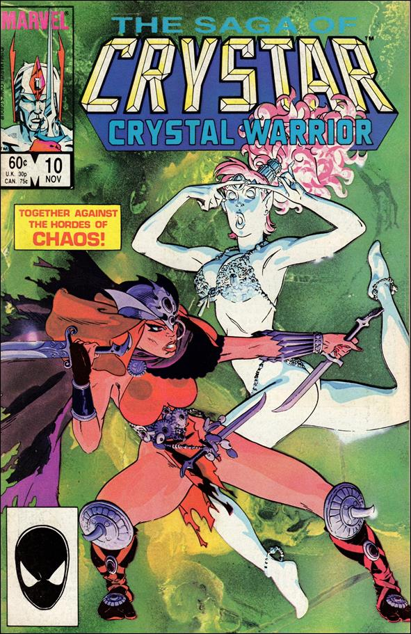 Saga of Crystar Crystal Warrior 10-A by Marvel