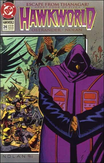 Hawkworld (1990) 24-A by DC