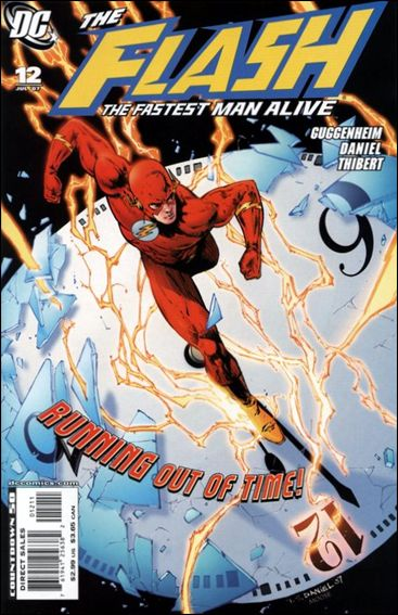 Flash: The Fastest Man Alive 12-A by DC