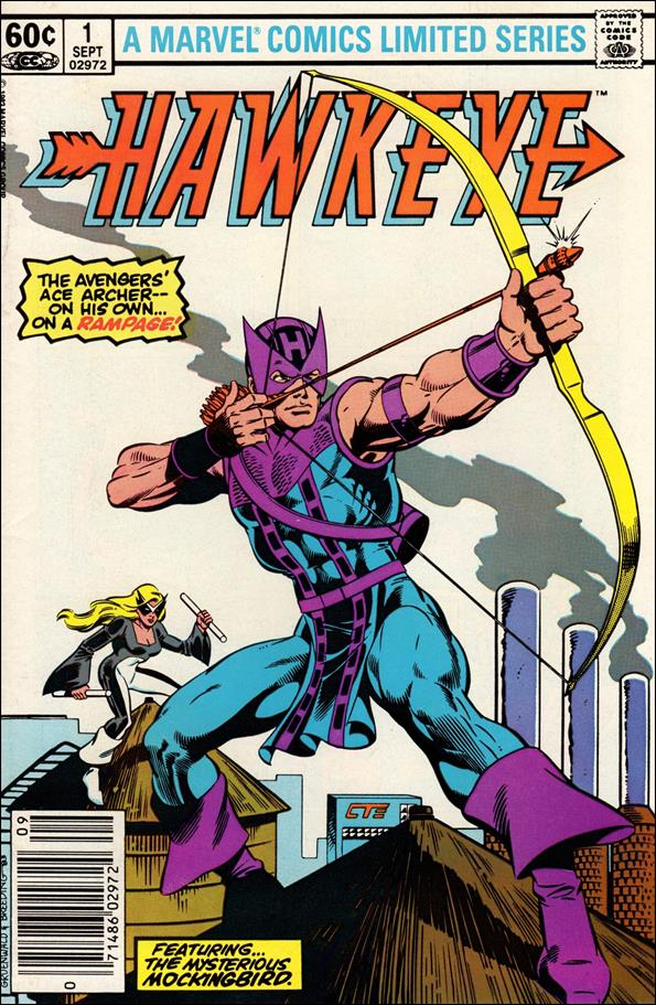 Hawkeye (1983) 1-A by Marvel