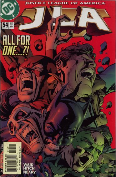 JLA 54-A by DC