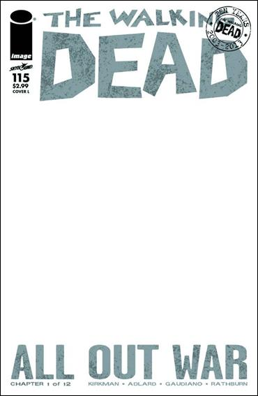 Walking Dead (2003) 115-L by Skybound Entertainment