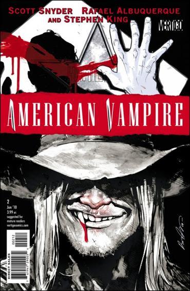 American Vampire 2-C by Vertigo