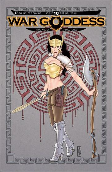War Goddess 10-D by Boundless Comics