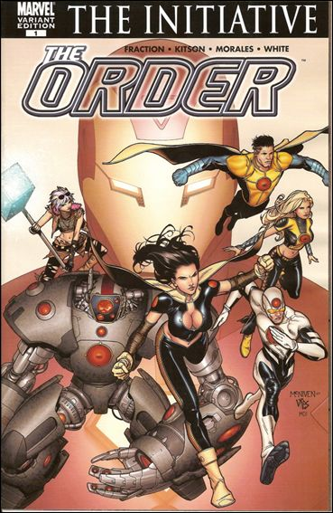Order (2007) 1-B by Marvel