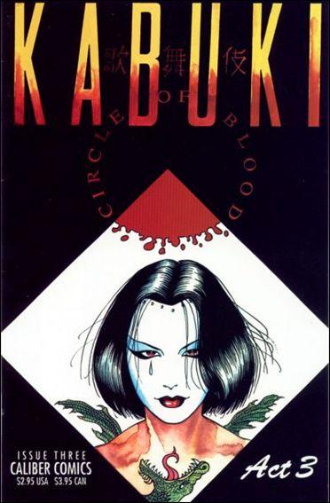 Kabuki: Circle of Blood 3-A by Caliber