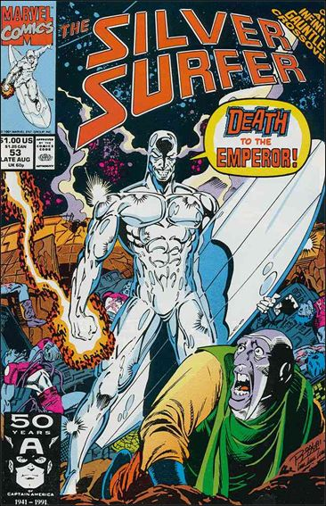 Silver Surfer (1987) 53-A by Marvel