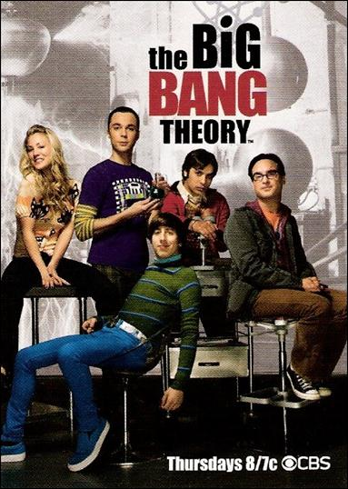 The Big Bang Theory: Seasons 1 & 2 (Promo) P1-A by Cryptozoic Entertainment