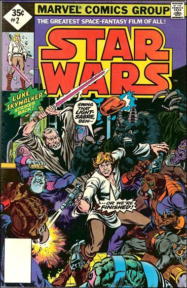 Star Wars (1977) 2-G by Marvel