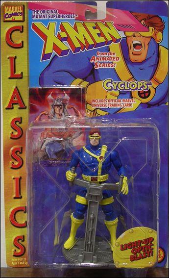 X Men Cyclops Jan 1995 Action Figure By Toy Biz
