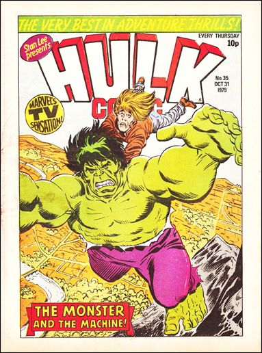 Hulk Comic (UK) 35-A by Marvel UK