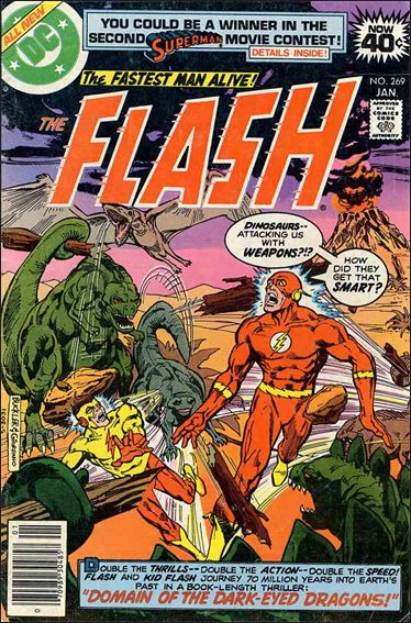 Flash (1959) 269-A by DC