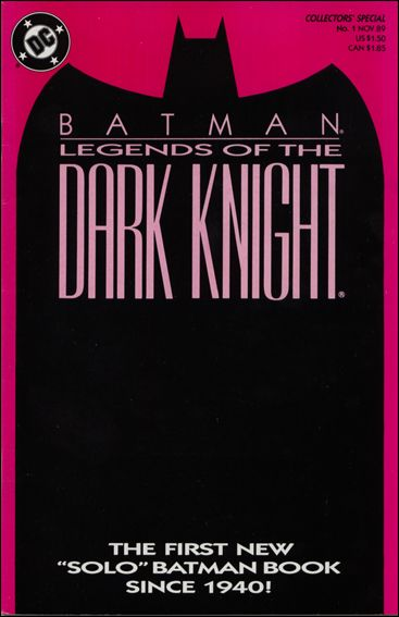 Batman: Legends of the Dark Knight 1-D by DC