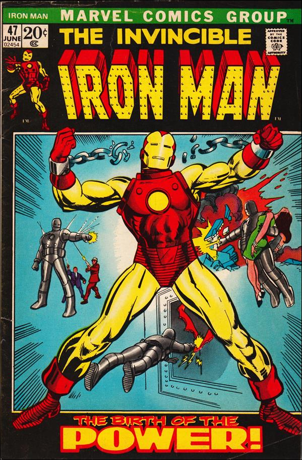 Iron Man (1968) 47-A by Marvel