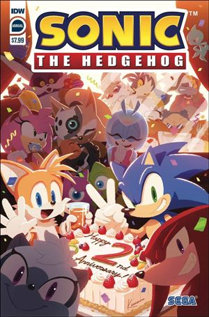 Sonic the Hedgehog Annual 2020-A