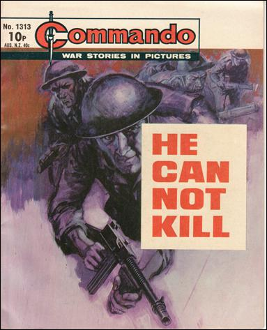 Commando (UK) 1313-A by D. C. Thomson