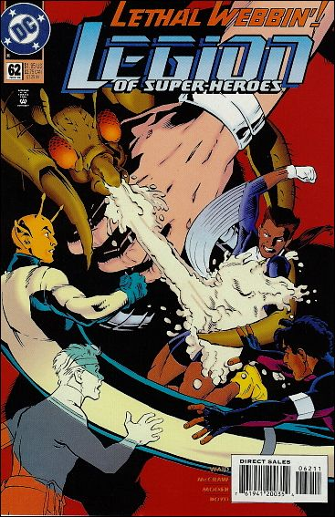 Legion of Super-Heroes (1989) 62-A by DC