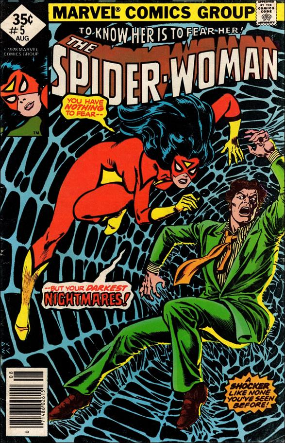 Spider-Woman (1978) 5-A by Marvel