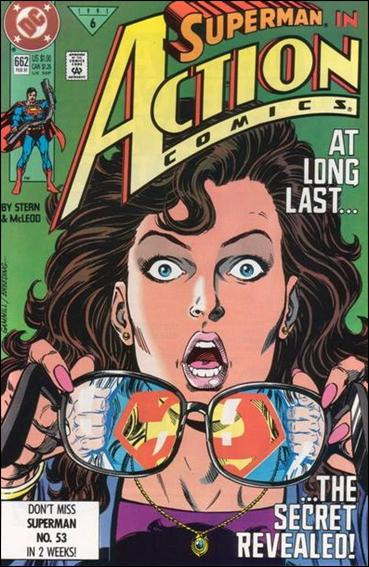 Action Comics (1938) 662-A by DC