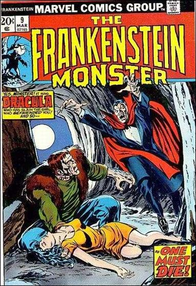 Frankenstein (1973) 9-A by Marvel
