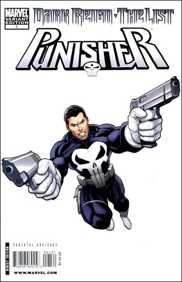 Dark Reign: The List - Punisher 1-B by Marvel