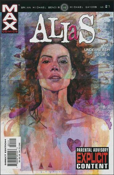Alias (2001) 21-A by Max