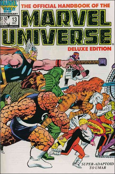 Official Handbook of the Marvel Universe (1985) 13-A by Marvel