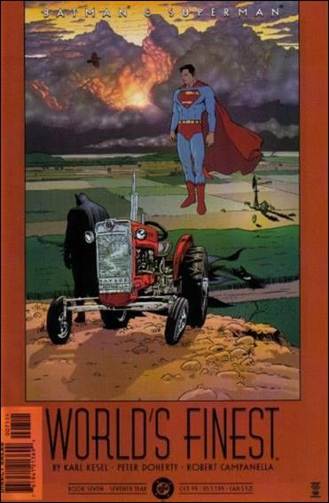 Batman and Superman: World's Finest 7-A by DC