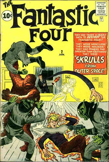 Fantastic Four (1961) 2-A by Marvel