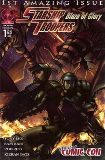 Starship Troopers: Blaze of Glory 1-E by Markosia