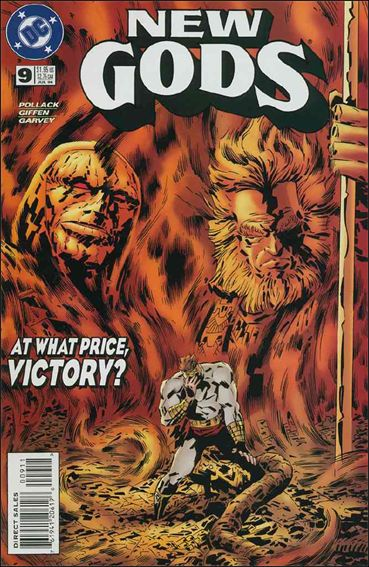New Gods (1995) 9-A by DC