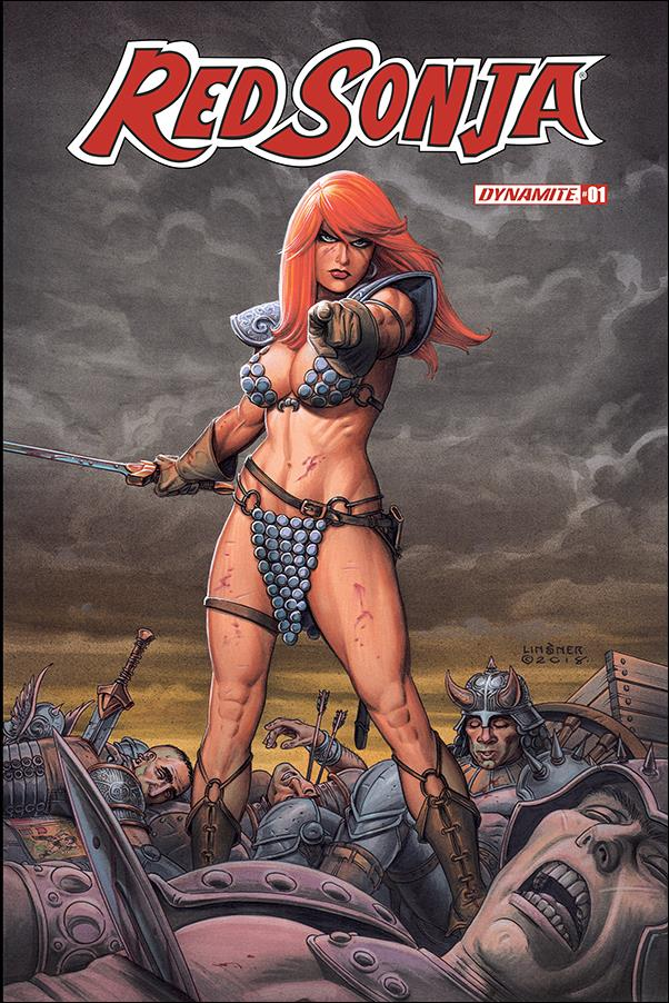 Red Sonja (2019) 1-B by Dynamite Entertainment