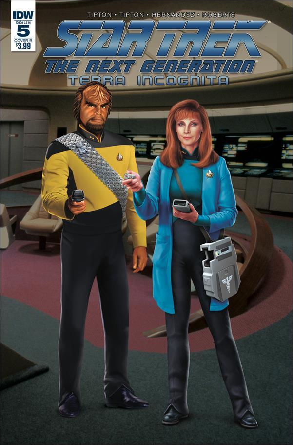 Star Trek: The Next Generation: Terra Incognita 5-B by IDW