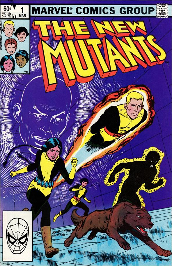 New Mutants (1983) 1-A by Marvel
