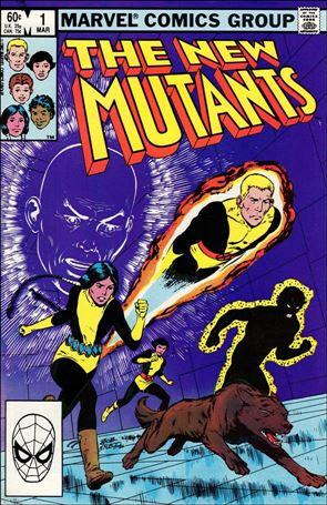 New Mutants (1983) 1-A
