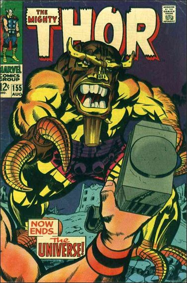 Thor (1966) 155-A by Marvel