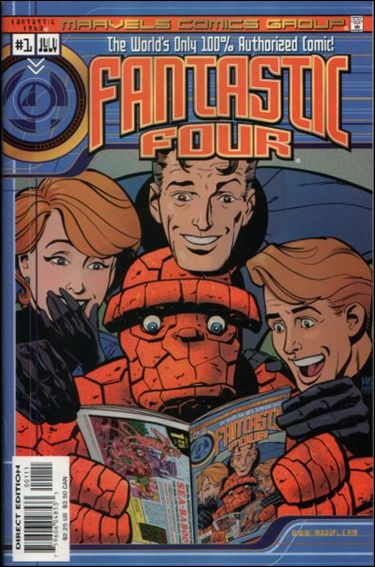 Marvels Comics: Fantastic Four 1-A by Marvel