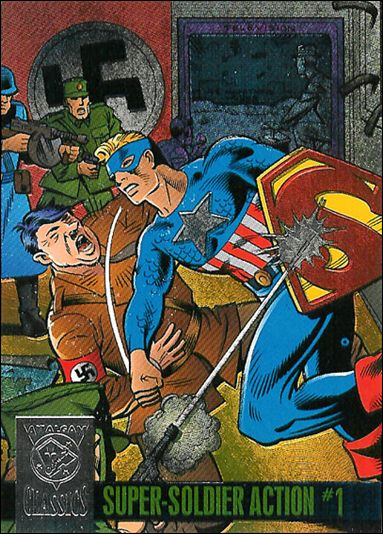 Amalgam Comics (Amalgam Classics Power Blast Subset) 1-A by Fleer/SkyBox