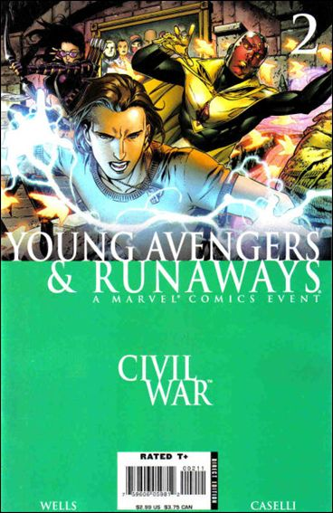 Civil War: Young Avengers & Runaways 2-A by Marvel