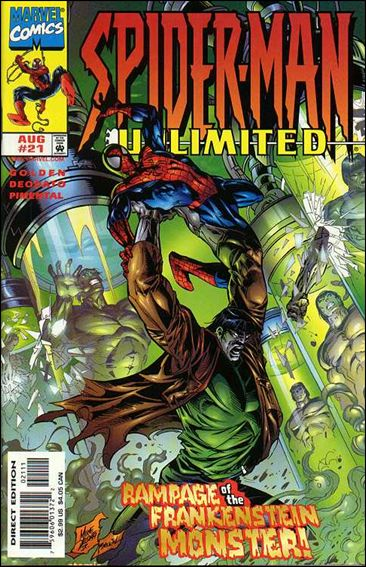 Spider-Man Unlimited (1993) 21-A by Marvel