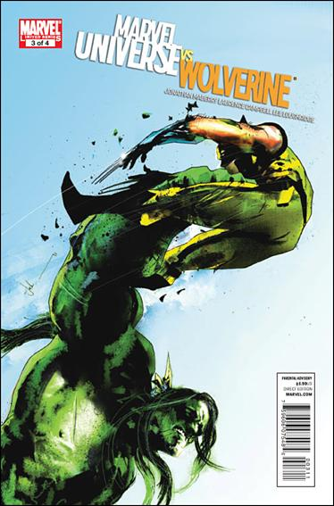 Marvel Universe vs Wolverine 3-A by Marvel