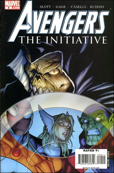 Avengers: The Initiative 9-A by Marvel