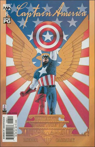Captain America (2002) 6-A by Marvel