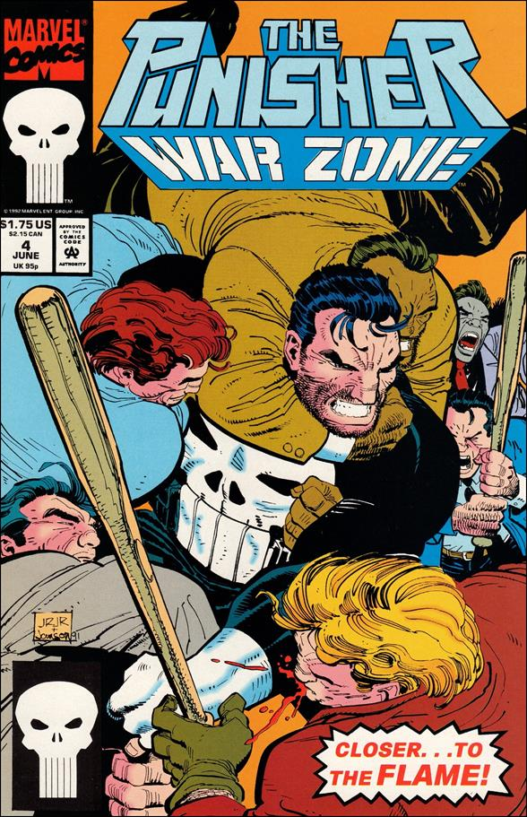 Punisher: War Zone (1992) 4-A by Marvel
